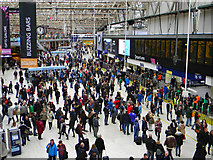 TQ3179 : Concourse - Waterloo Station - November 2017 by The Carlisle Kid