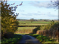 TL1477 : View north from Hamerton Road by Robin Webster