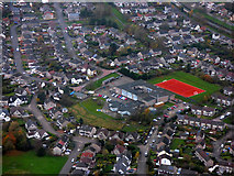 NS5372 : Castlehill Primary School from the air by Thomas Nugent
