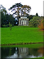 SP6737 : Stowe Landscape Gardens - Temple of Ancient Virtue by Chris Allen