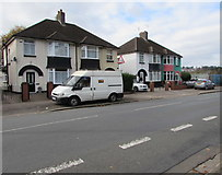 ST3186 : Northern end of houses on the west side of Mendalgief Road, Newport by Jaggery