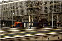 TQ3179 : Entering Waterloo Station, London by Mike Pennington