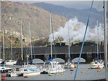 SH5638 : Welsh Highland train by Ian Cardinal