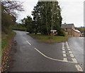 SO4019 : Junction in Cross Ash, Monmouthshire by Jaggery