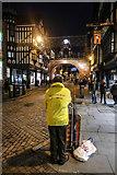 SJ4066 : Street Preacher, St Werburgh Street, Chester by Matt Harrop