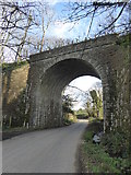 SW6431 : Railway bridge at Lower Prospidnick by Rod Allday