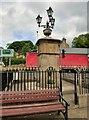SJ9784 : Disley Fountain by Gerald England
