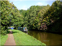 SJ9922 : Canal approaching Great Haywood Junction, Staffordshire by Roger  Kidd