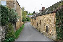 SP2225 : Back Lane, Upper Oddington by Bill Boaden