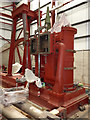 SE5207 : Markham Grange Steam Museum - beam engine restoration by Chris Allen
