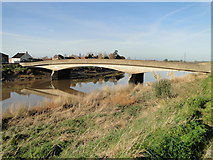 TF5914 : Bridge across the Great Ouse by Adrian S Pye