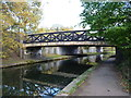SP0394 : Brickfields Footbridge on the Tame Valley canal by Richard Law