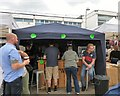 SJ9494 : Tweed Brewery at Hyde Artisan Market by Gerald England