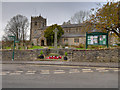 SD6973 : Ingleton, St Mary's Church and War Memorial by David Dixon