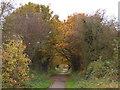 SJ6467 : Whitegate Way approaching Catsclough Crossing by Stephen Craven