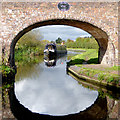 SJ9621 : Canal east of Weeping Cross, Stafford by Roger  Kidd