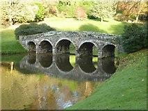 ST7733 : Palladian Bridge, Stourhead Gardens by Philip Halling