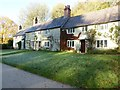 ST7733 : Holiday cottages, Stourhead by Philip Halling