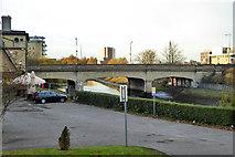 TM1543 : Station Bridge (Princes Street), Ipswich by Robin Webster