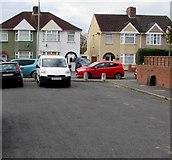 ST3186 : Western end of Alice Street, Newport by Jaggery
