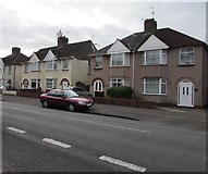 ST3186 : Mendalgief Road semis, Newport by Jaggery