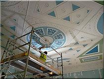 TQ1780 : Pitzhanger Manor interior conservation , Mattock Lane (2) by Stephen Richards