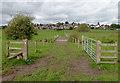 SJ9422 : Footpath and flood plain east of Stafford by Roger  Kidd