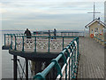 ST1971 : Anglers on Penarth Pier by Robin Drayton