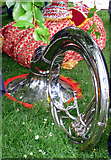 NS5766 : A sousaphone in Kelvingrove Park by Thomas Nugent
