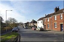 ST5038 : Bere Lane, Glastonbury by David Smith
