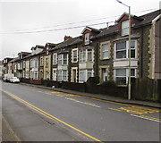 SS9497 : Baglan Street houses, Ynyswen by Jaggery