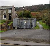SS9497 : Ynysfeio RUDC electricity substation, Ynyswen by Jaggery