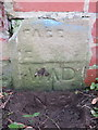 SE6050 : War Department Boundary Stone #3 - River Ouse riverside path by John S Turner