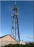 J3630 : The Drinnahilly Transmitter above Newcastle by Eric Jones