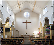 TQ4085 : St Saviour, MacDonald Road, Forest Gate - East end by John Salmon