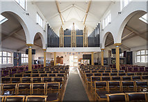 TQ4085 : St Saviour, MacDonald Road, Forest Gate - West end by John Salmon