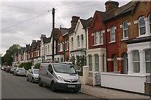 TQ2672 : Trewint Street, SW18 by David Kemp