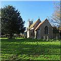 TL5284 : Little Downham: St Leonard by John Sutton