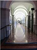 SX8752 : Long corridor, Britannia Royal Naval College  by David Hawgood
