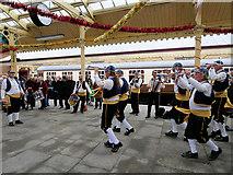 SD8010 : Morris Men on Lancashire Day by David Dixon