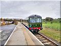 SD7912 : Class 105 Cravens DMU at Burrs Halt. by David Dixon