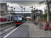 SD8010 : DMU Leaving Bury by David Dixon