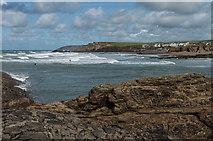 SS2006 : Surf off Summerleaze Beach by Ian Capper