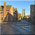 TL5380 : Ely: at the corner of Silver Street by John Sutton