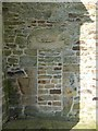 SK3474 : Blocked Norman priest's doorway by Dave Dunford