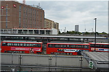 TQ3981 : Canning Town Bus Station by N Chadwick