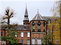 SO9198 : Former Convent (detail) in Wolverhampton by Roger  Kidd