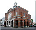 SY4692 : Bridport town hall by Bill Harrison