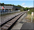 SM9006 : Railway from Milford Haven station towards Johnston station by Jaggery