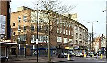 J3374 : Rosemary Street/North Street corner, Belfast (November 2017) by Albert Bridge